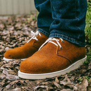 Helm 11 D Garzo Suede Leather Chukka Boots